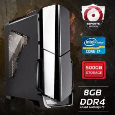 Origin PC, INTEL Core i7 7700 4.2GHz DESKTOP, 500GB, 8GB, DDR4 Quad Gaming PC