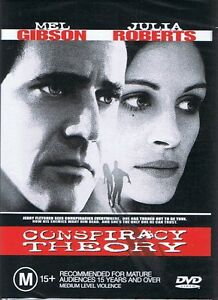 CONSPIRACY THEORY DVD Starring Mel Gibson & Julia Roberts NEW & SEALED