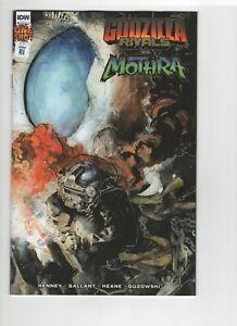 Godzilla Rivals vs Mothra #1 1:10 Jeffrey Veregge RI Incentive Variant Comic