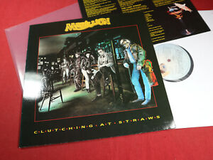 Marillion  CLUTCHING AT STRAWS  LP EMI 1C 064-2407851 Holland 1987