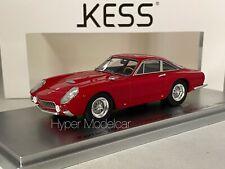 Kess-model 1/43 Ferrari 250gt Lusso Ch.4857gt Speciale Coupé 1963 Rosso
