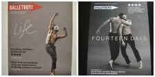 BALLETBOYZ - 2 X A5 FLYERS -  LIFE and FOURTEEN DAYS  PRODUCTIONS 2016 and 2018