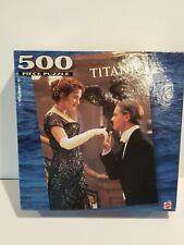 New 500 Piece Titanic Movie Staircase Scene Jigsaw Puzzle Mattell