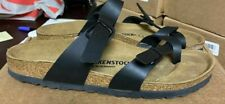 Birkenstock Mayari Sandals Black 41 10 Filled-in Footbed N M - STORE RETURN #177