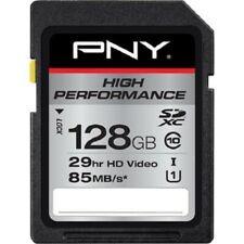 PNY 128gb High Performance UHS-IU1 Class 10 SDXC Memory Card 85 MB/s Max Rd Sp