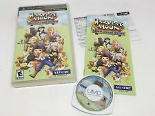 Harvest Moon: Hero of Leaf Valley (Sony PSP, 2010) Rare Complete game