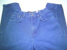 """Route 66 Womans Blue Jean Relaxed SZ 7/8 Petite Waist 24"""" Inseam 27"""" 100% Cotton"""