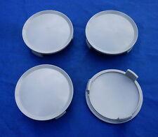 (K75N) 4x Nabenkappen Felgendeckel Radzierdeckel 74,5 / 69,5 mm grau für Mercede