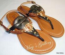 GUESS  Thongs  Flip Flop Slppers Sandals Shoes Flops open Toe shoe T strap sz  6