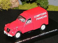 CITROËN 2CV AZU Publicitaire Comptoirs Français - ELIGOR 1/43 Ref 101466