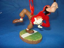 Goofy as Football Player Christmas Ornament Disney Store 2011