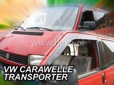VW T4 1991 - 2003 CARAVELLE Wind deflectors 2.pc  HEKO  31174  STICKING