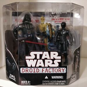 Star Wars Droid Factory 2 of 6 - Darth Vader and K-3PX