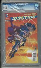 Justice League #12 CGC 9.8 Iconic Superman Wonder Woman Kiss Jim Lee