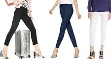 Hue Leggings Travelista Seamed Luxe Ponte Skimmer Leggings XS,S,M, XL