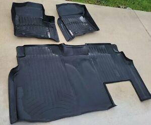 WeatherTech Floor Mat FloorLiner for Ford F-150 - SuperCrew - 2010-2014 -Black