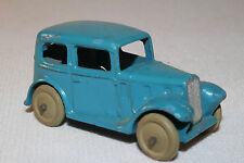 1940's Dinky #35a Austin Sedan, Blue, Original