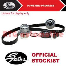 GATES Cronometraggio Cam Cintura Pompa Acqua Kit per VW Passat 1.6 2.0 Diesel (2009-2014)