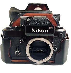 Nikon F2 camera body with advanced DP-1 Black Working F2 Vintage Nikon Case🔥