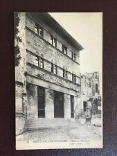 CPA 30 - Gard- Saint-Gilles-du-Gard - Maison Romane