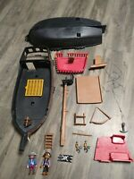 Playmobil Lot Black Beard Pirate Ship Figures Accessories Replacement Parts OEM