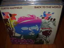 CURTIS MAYFIELD back to the world ( r&b )