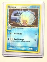 SHELGON - 38/101 - Ex Dragon Frontiers Set - Holo - STAMPED - Pokemon - NM