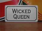 Wicked Queen Metal Sign Halloween Haunted House