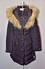 NEW WOMENS ROCAWEAR ARCTIC BLAST BLACK WINTER PUFFER LONG JACKET COAT SIZE XL