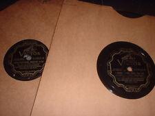 78RPM 2 Victor by Leo Reisman, Bring Love Song, Kiss U Hand, Josephita, Vienn V-