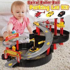 Geschenk Assemble Kinder Rennbahn Auto Schienen Spielzeug Alu Modell Boy Puzzle