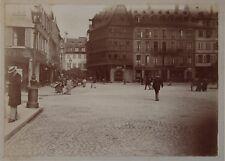 Strasbourg ? France Allemagne Snapshot Photo Vintage Citrate c1900