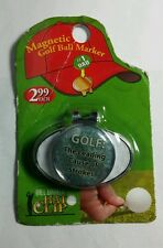 MAGNETIC GOLF BALL MARKER LEADING CAUSE OF STROKES HAT CLIP GIFT STOCKING STUFFR