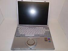 "Panasonic Toughbook CF-W2 12.1"" Intel Pentium M 900MHz 512MB Ram NO HDD"