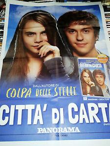 Locandina edicola-poster 80X90:DVD CITTà DI CARTA.SORRISI PANORAMA