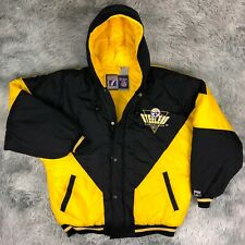 Vintage 90's LOGO 7 Team NFL Pittsburgh STEELERS Football Puffer Jacket Youth XL