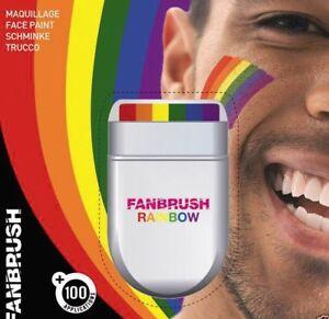 LGBT+ Rainbow Flag Face Paint Paint Gay Lesbian Pride Multi Colours