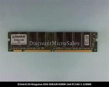 Kingston D1664130 SDRAM 128MB PC-100 Non ECC 100Mhz RAM Memory