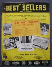 Original Dow's Auto Electric The All Canadian Best Sellers 1949 Catalog