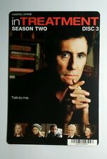 IN TREATMENT SEASON TWO DISC 3 COVER ART MINI POSTER BACKER CARD (NOT a movie )