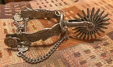 Old Wicked And Nasty Ornate 24 Point Horse Spur (1 Spur)