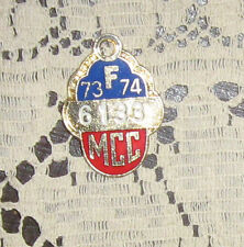 MCC Melbourne Cricket Club Badge 1973-74 Nice Condition