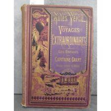 Hetzel Jules Verne Les enfants du capitaine Grant, Rare en violet mais en l'état