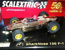"""NEW SCX Scalextric A10106S300 SharkNose 156 F-1 """"50 Anniversary"""" - NIB"""
