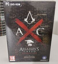 ASSASSIN'S CREED SYNDICATE ROOKS EDITION LIMITED PC GAME NUOVO SIGILLATO ITALIAN