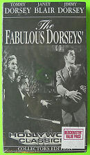 NEW! SEALED! Tommy Jimmy Dorsey Janet Blair THE FABULOUS DORSEYS Classic VHS