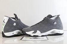 Nike Air Jordan Retro 14 Oregon Ducks PE Grey White Lux Suede Promo Sample 14 3
