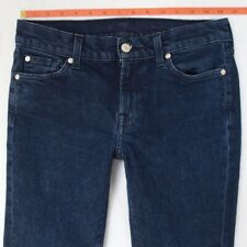 Ladies Seven 7 for All Mankind MID RISE ROXANNE Stretch Slim Blue Jeans W28 L32
