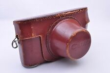 Vintage!! Canon Camera Leather Case for Canon IId 2d IId2 From Japan VGC