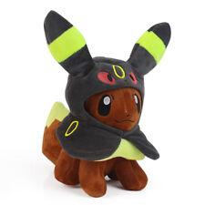 Pokemon Center Eevee Poncho Umbreon Blacky 7 inch Plush Doll Soft Figure Toy